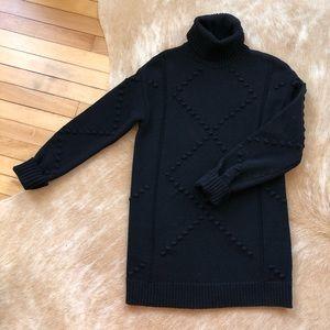 Cute Black Sweater Dress
